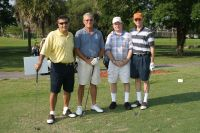 golf foursome @ AAGHOF event