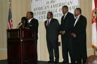Kappas at podium