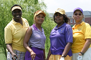 Members of Wake Robin Golf Club during the JML 70th Anniversary Celebration Golf Tournament.