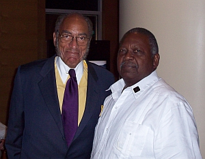 Earl Graves and Malachi Knowles