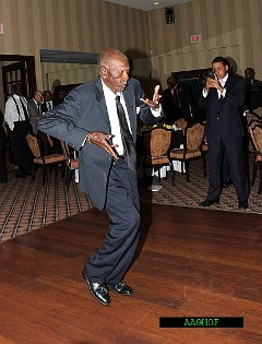Almost 93 years young - 2012 Legacy Awardee: Herbert Dixon, Bartow, Fl - cutting a rug.